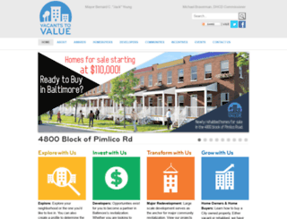 vacantstovalue.org screenshot