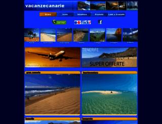 vacanzecanarie.com screenshot