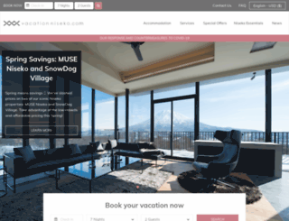 vacationniseko.com screenshot