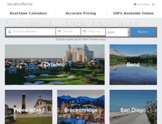 vacationplacerentals.net screenshot
