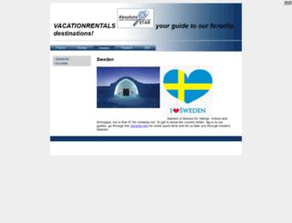 vacationrentals.se screenshot