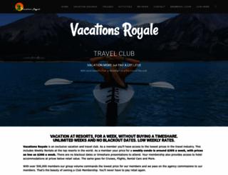 vacationsroyale.com screenshot