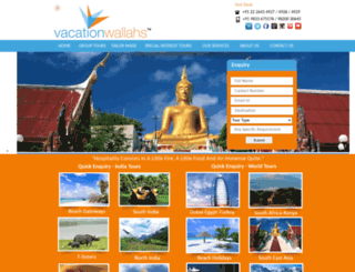 vacationwallahs.com screenshot