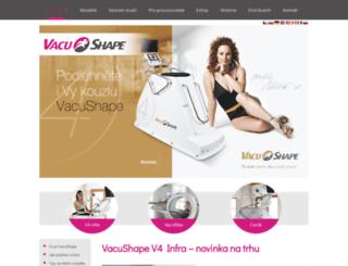 vacushape.cz screenshot
