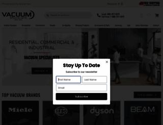 vacuumspecialists.com screenshot