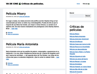 vadecine.es screenshot