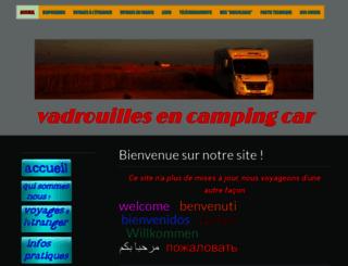 vadrouillesencampingcar.jimdo.com screenshot