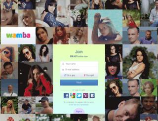 vagos.wamba.com screenshot