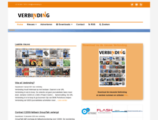 vakbladverbinding.nl screenshot