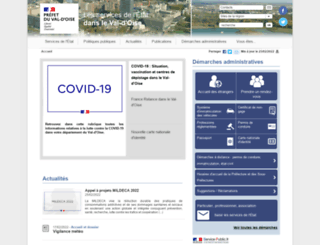 val-doise.gouv.fr screenshot