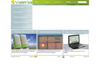 valenia.com screenshot
