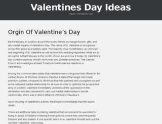 valentinesdayideas2016.com screenshot