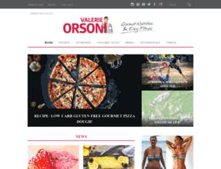 valerieorsoni.com screenshot