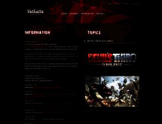 valhallagamestudios.com screenshot