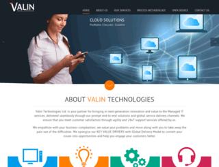 valintechnologies.co.uk screenshot