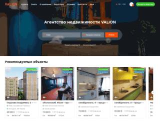 valion.ua screenshot