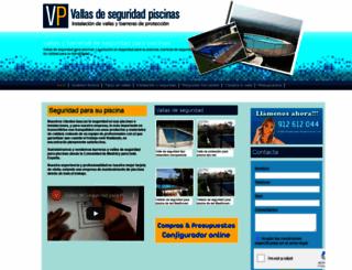 vallasdeseguridadpiscinas.com screenshot