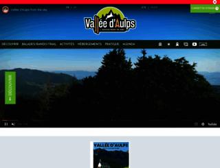 valleedaulps.com screenshot