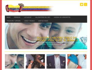 vallenatony.com.ve screenshot