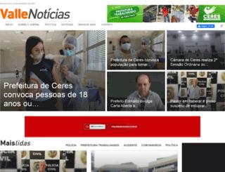 vallenoticias.com.br screenshot