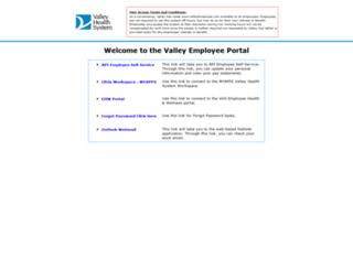 valleyemployee.com screenshot