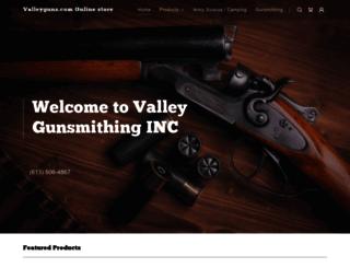 valleyguns.com screenshot