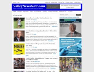 valleynewsnow.com screenshot