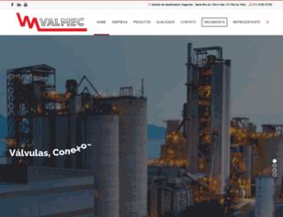 valmec.com.br screenshot
