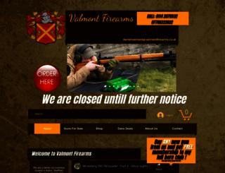 valmontfirearms.co.uk screenshot