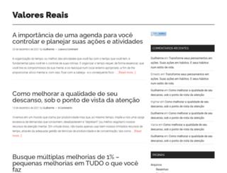 valoresreais.com screenshot