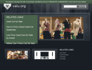 valu.org screenshot