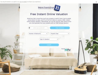 valuation.balgoresproperty.co.uk screenshot