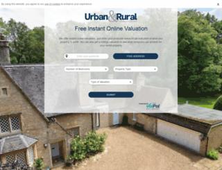 valuation.urbanandrural.com screenshot