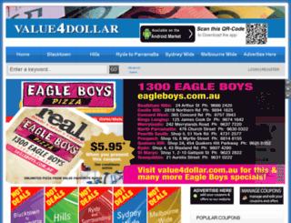 value4dollar.com.au screenshot