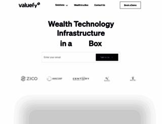 valuefy.com screenshot