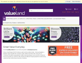 valueland.co.uk screenshot