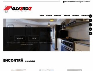 valverdepropiedades.com.ar screenshot