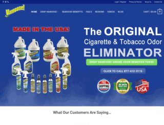 vamooseproducts.com screenshot