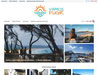 vamosfugir.net.br screenshot