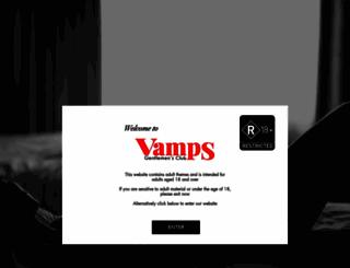vamps.co.nz screenshot