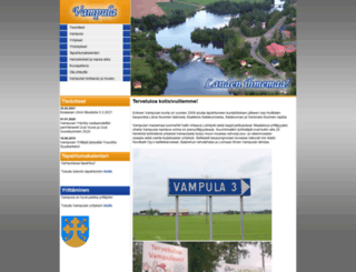 vampula.fi screenshot
