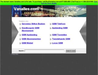 vanalles.com screenshot