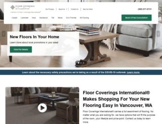 vancouver.floorcoveringsinternational.com screenshot