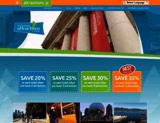 vancouverattractions.com screenshot