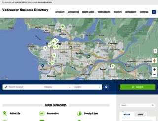 vancouverbusinessdirectory.org screenshot