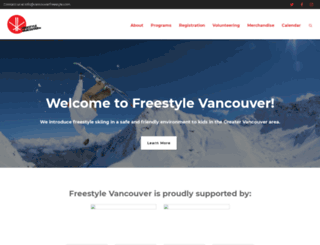 vancouverfreestyle.com screenshot