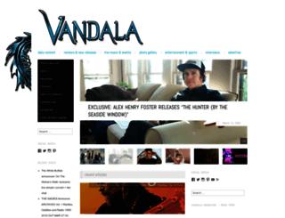 vandalamagazine.com screenshot