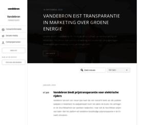 vandebron.pr.co screenshot