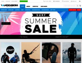 vandenbergsurf.com screenshot