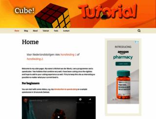 vanderblonk.com screenshot
